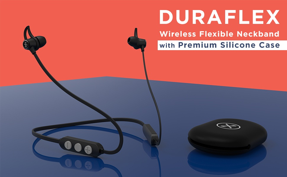 XERTZ launched Duraflex B-10 wireless earphones in India with flexible band and silicone case at an exciting price of Rs.799