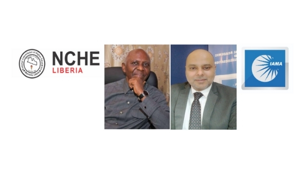 International Academic and Management Association (IAMA) India signs an MoU with the National Commission on Higher Education (NCHE), Liberia