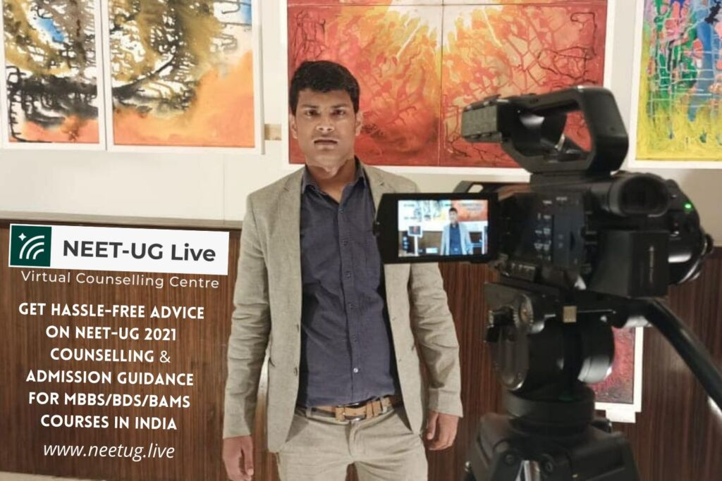 """NEET-UG Live Launches """"Virtual Counselling Centre"""" With an Active Helpline for NEET-UG"""