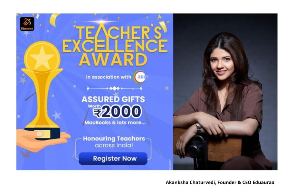 Eduauraa to felicitate Teachers with recognition and prizes this Teacher's Day